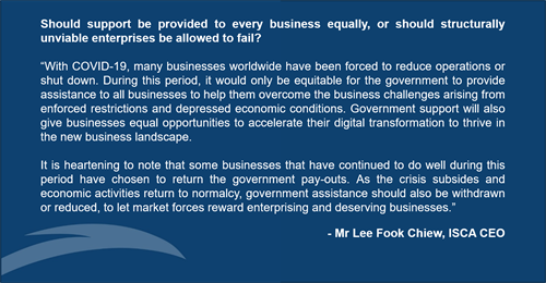 CEO's quote on Views From the Top  Aid for Businesses