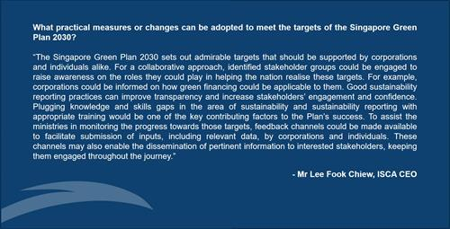 SG Green Plan 2030 - Views from the Top