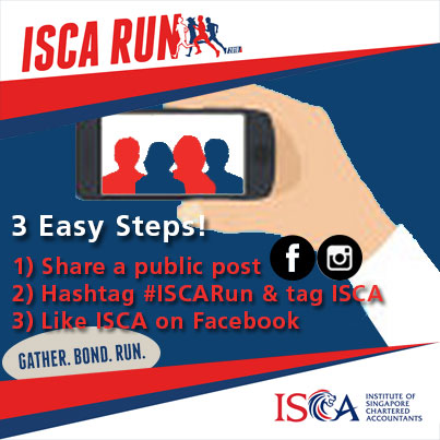 ISCA Run 2018 - Post, Tag and Win Social Media Contest