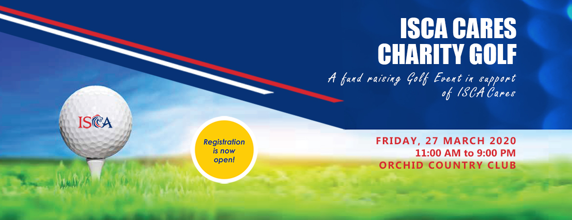 Calling avid golfers with a heart of gold! ISCA will hold the inaugural ISCA Cares Charity Golf at Orchid Country Club on Friday, 27 March 2020. A fund raising Golf Event in support of ISCA Cares, proceeds from ISCA Golf goes towards supporting needy youths who aspire to become chartered accountants. Click this banner to find out more.