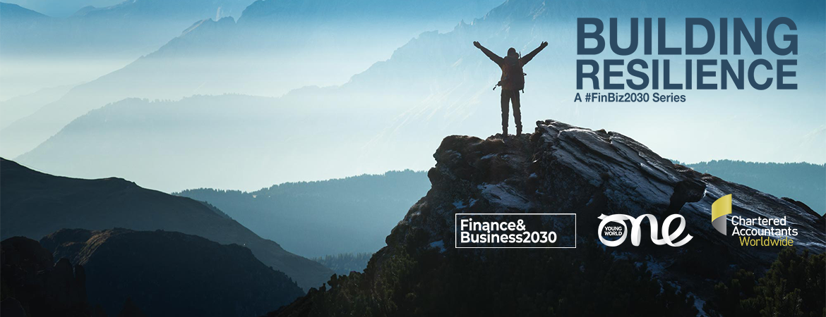 As a member of Chartered Accountants Worldwide, ISCA is pleased to share the launch of a new global webinar series under the Finance&Business2030 umbrella, 'Building Resilience: A #FinBiz2030 Series' to support young members, trainees and students during the pandemic. Register today.