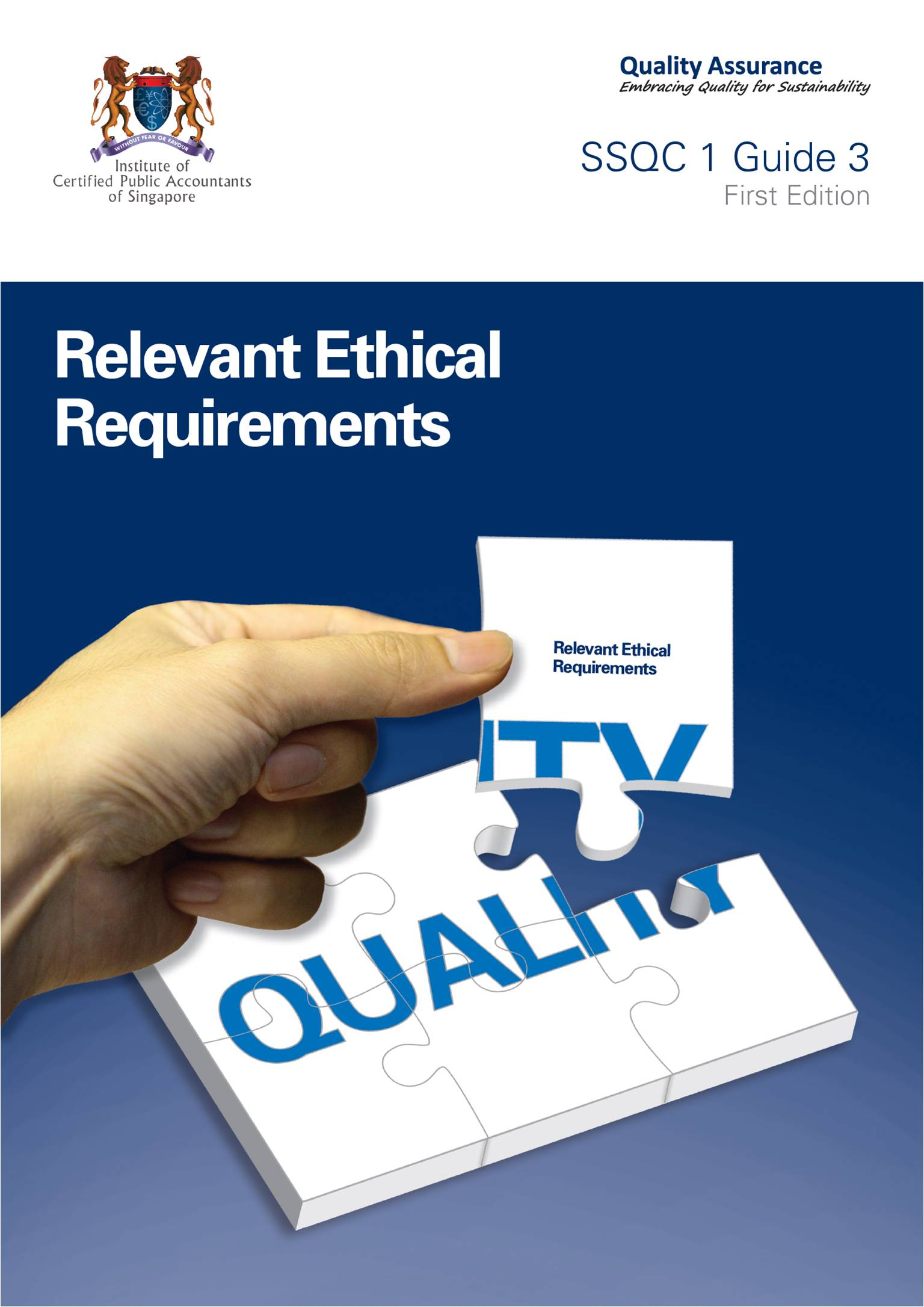 SSQC 1 Practice Guides Relevant Ethical Image