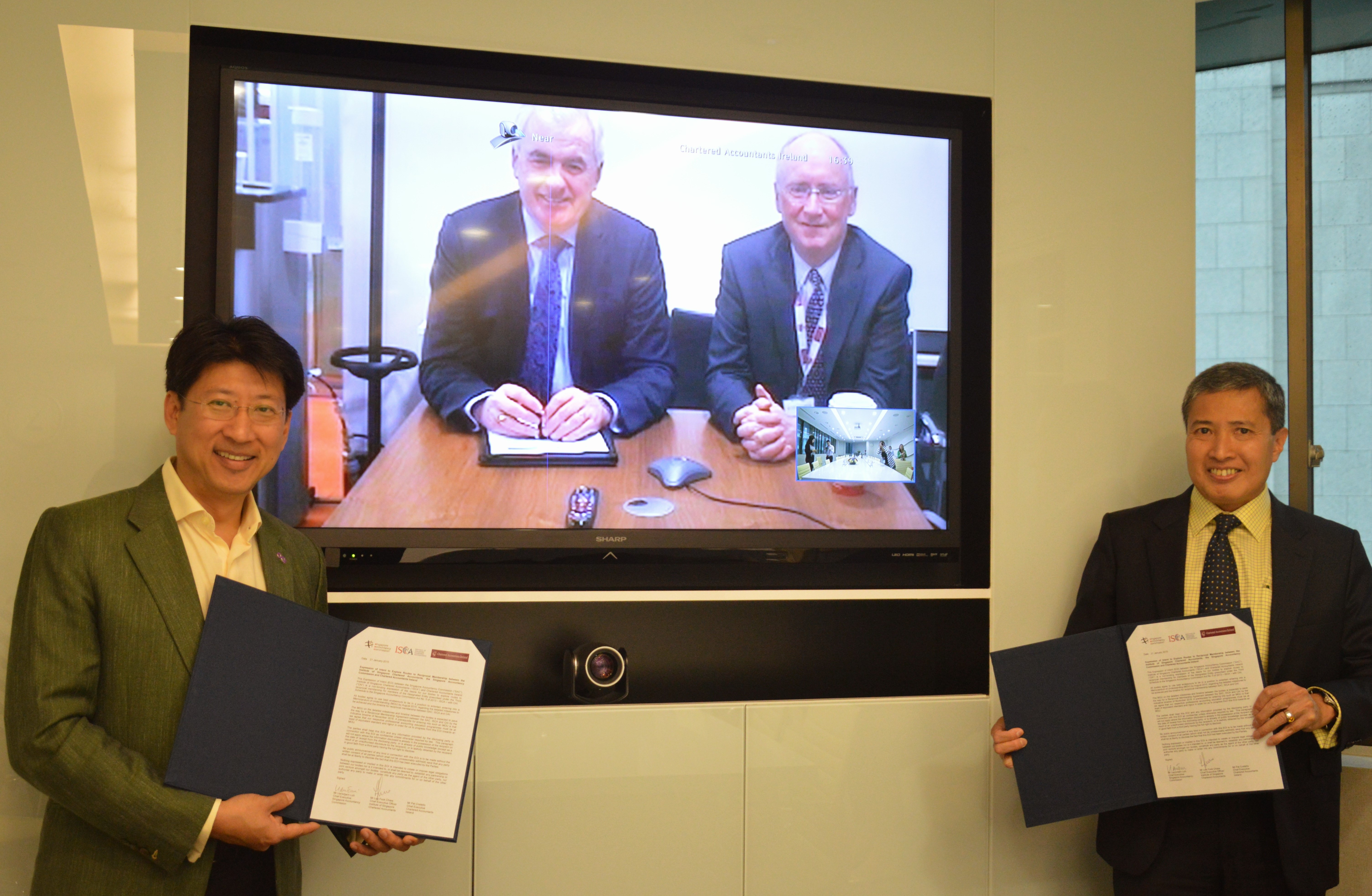 ISCA, SAC and CAI Signs EOI