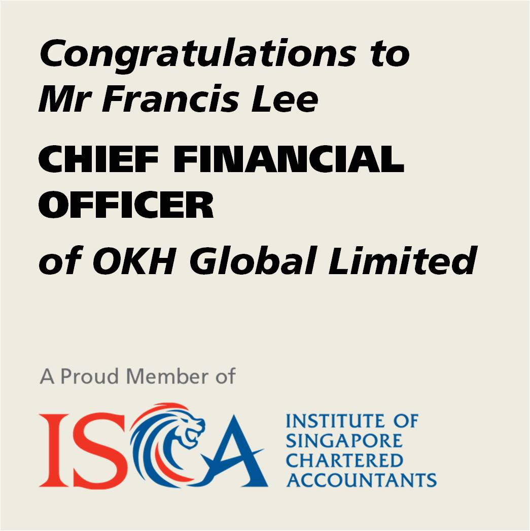ISCA Member as CFO