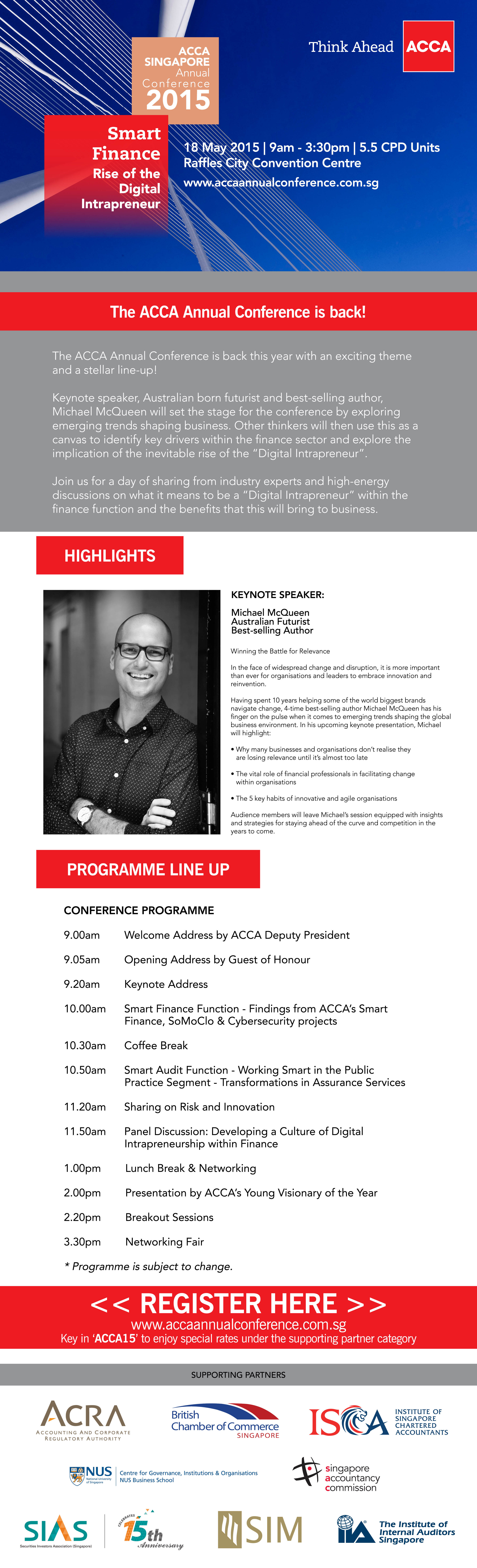 ISCA supports the ACCA Annual Conference 2015