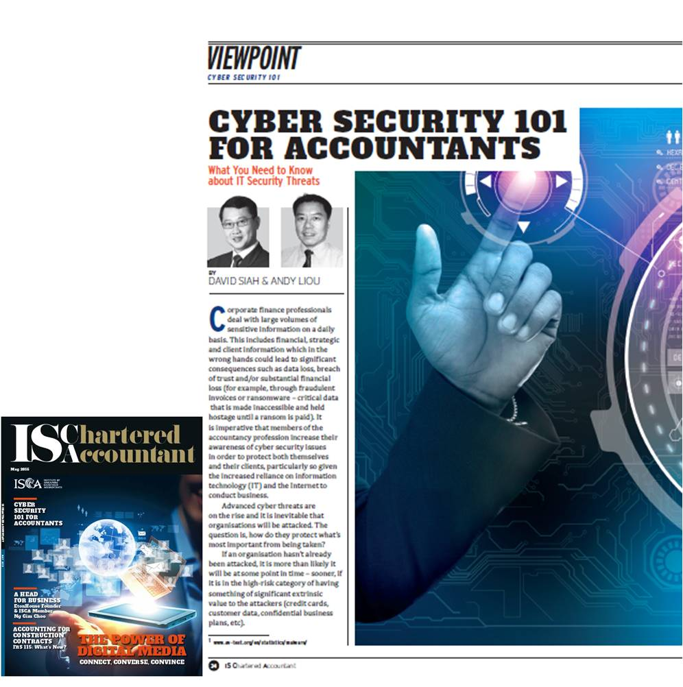 Cyber security May Journal 2015