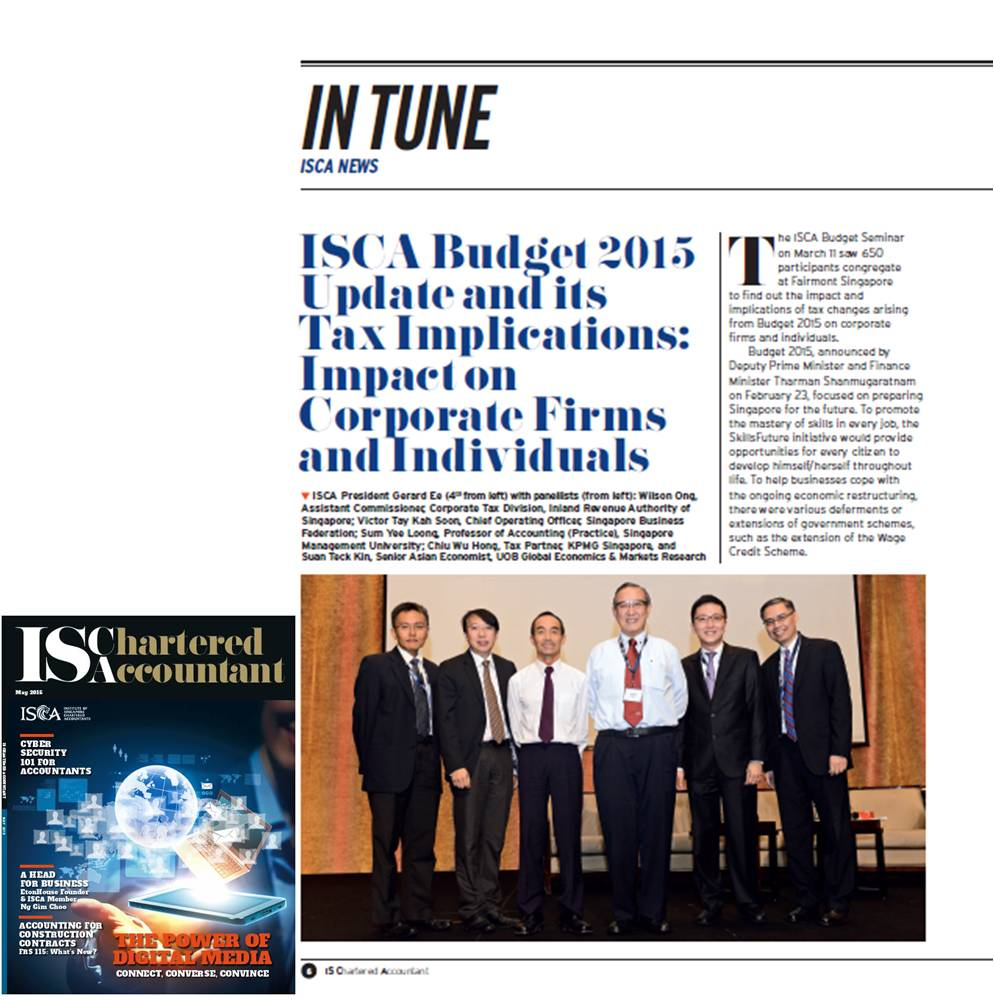 Budget 2015 May Journal 2015