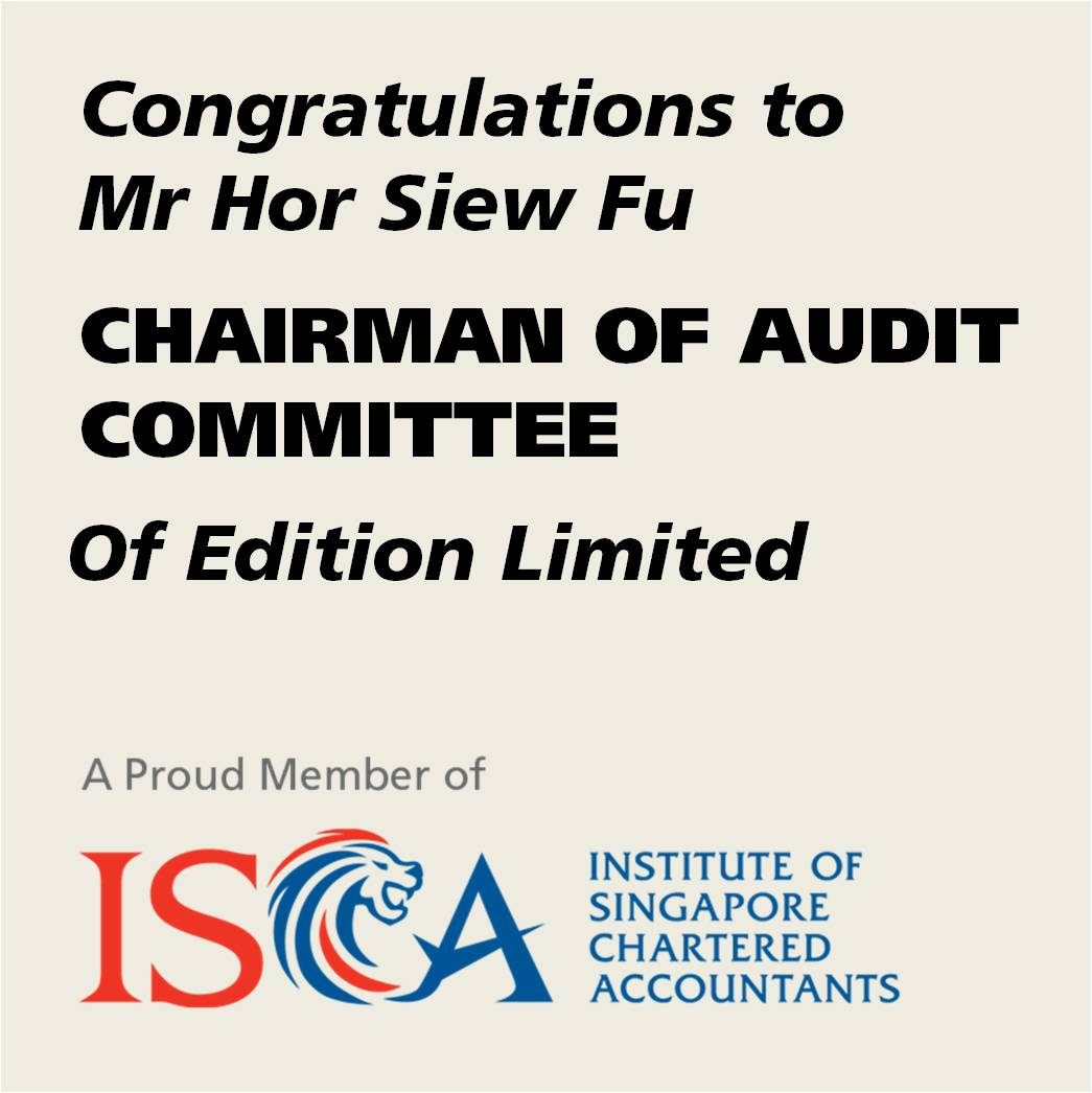 Chairman of Audit Committee