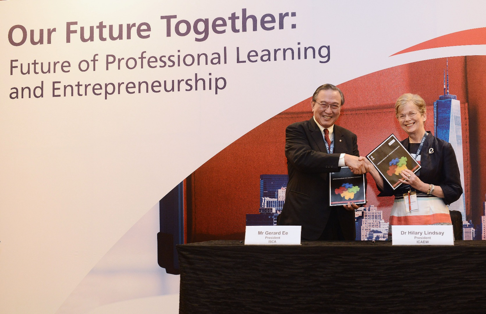 isca and icaew sign agreement to establish reciprocal